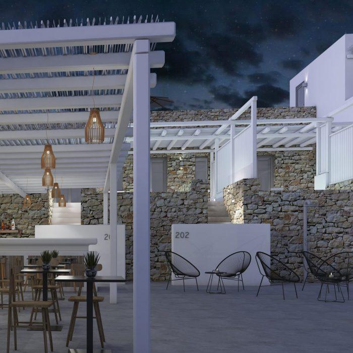 Night Exterior Bar 1
