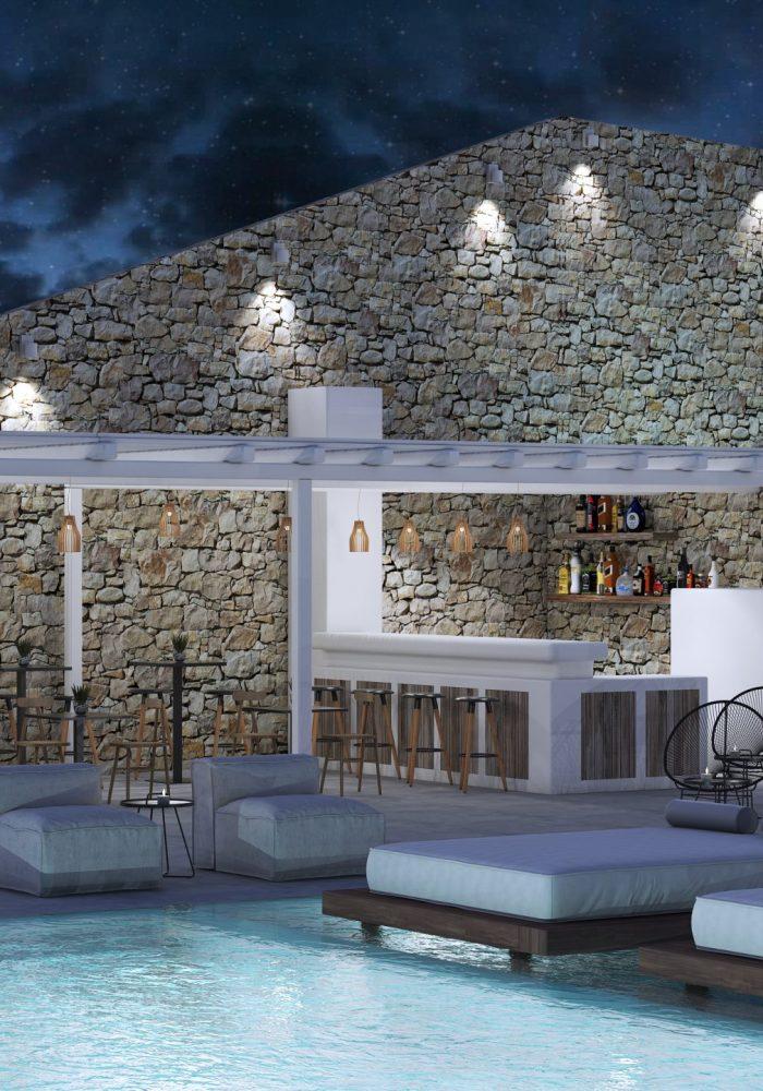Night Exterior Bar 2